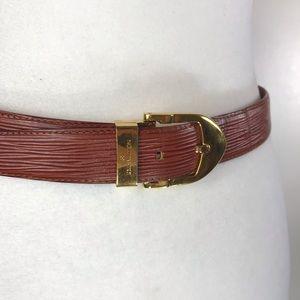 Louis Vuitton Accessories - Louis Vuitton Épi leather Belt 2/2
